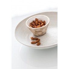 Bowl Mango Wood White Small