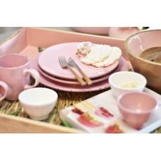 Dessert Plate Pink