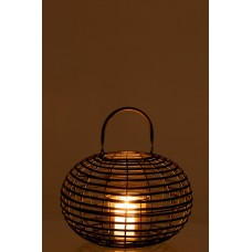 Lantern Round Bamboo