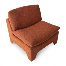 Boucle Brick Lounge Chair