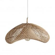 Wave Rattan Lamp