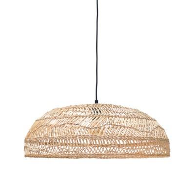 Wicker Pendant Lamp Flat