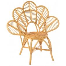 Chair Flower Rattan