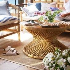 Coffee Table Peacock - M