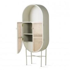 Retro Oval Cabinet Grey