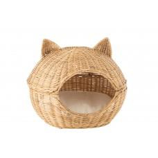 Cat Basket Rattan Light